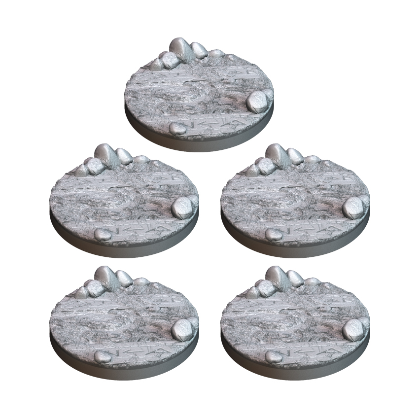 5 Peanas de Montaña 30mm